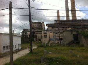 Image by V. Ariosa taken in Santa Cruz del Norte, Provincia Mayabeque (previously part of Provincia Habana). Electric Plant.